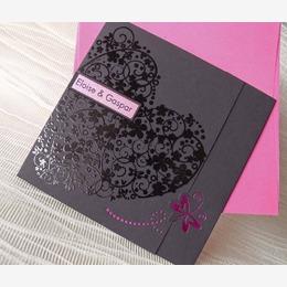 mariage chocolat fuschia - Faire Part Mariage Gris Et Fushia