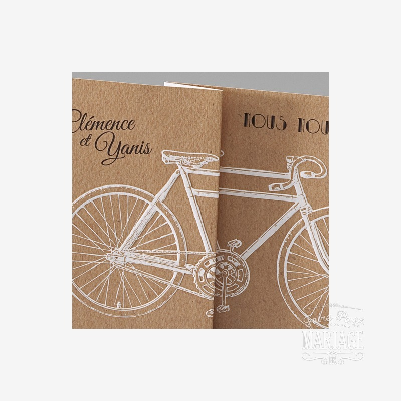 mariage bicyclette