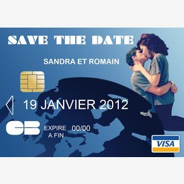 save the date carte